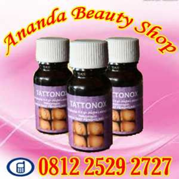 obat penghapus tattoo permanen herbal asli tattonox original natural