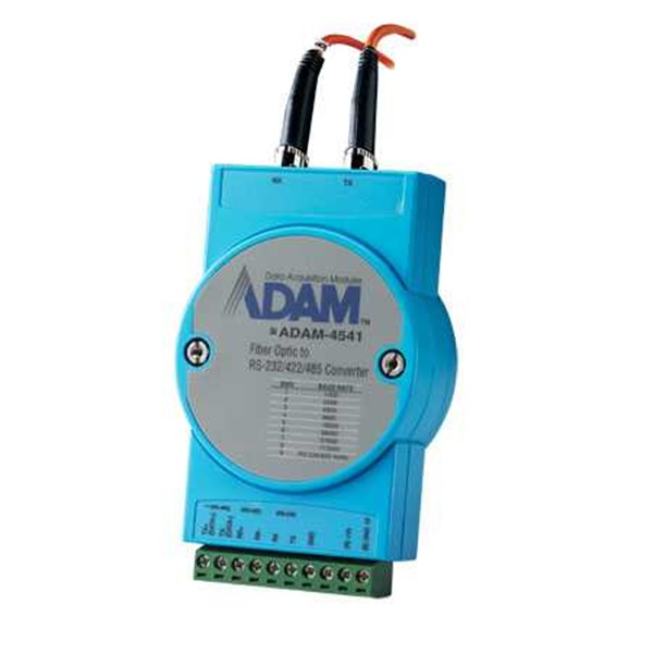 adam 4541 advantech multi-mode fiber optic to rs-232/422/485 converter-1