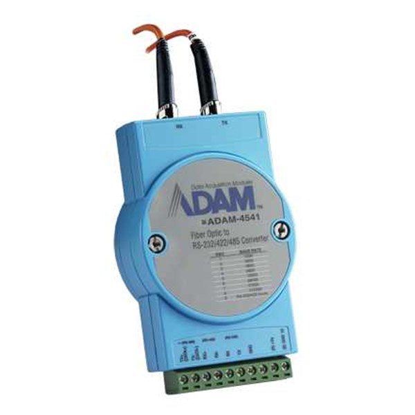 adam 4541 advantech multi-mode fiber optic to rs-232/422/485 converter