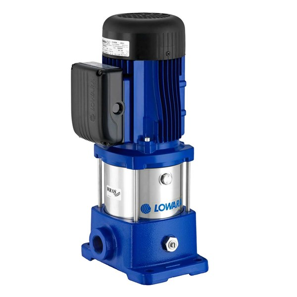 lowara vm close coupled vertical multistage pump