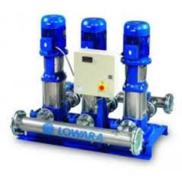 lowara pump gs fixed speed booster sets