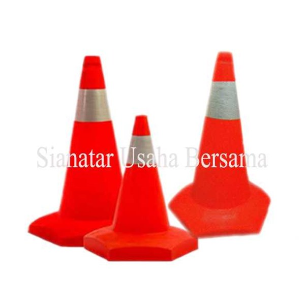jual traffic cone plastik