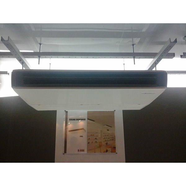 ac daikin ceiling suspended inverter 1,5 s/d 5pk series r 410a-7