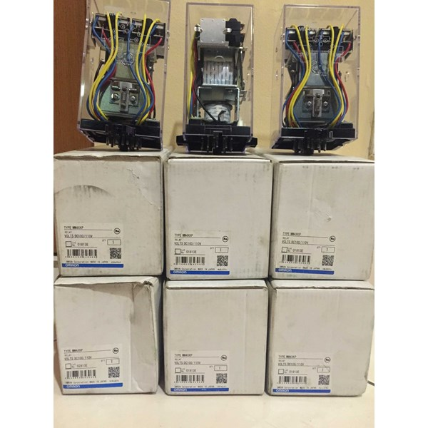 relay omron mm4xkp 110vdc-4