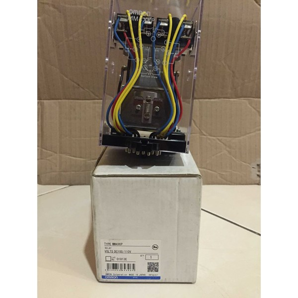 relay omron mm4xkp 110vdc-1