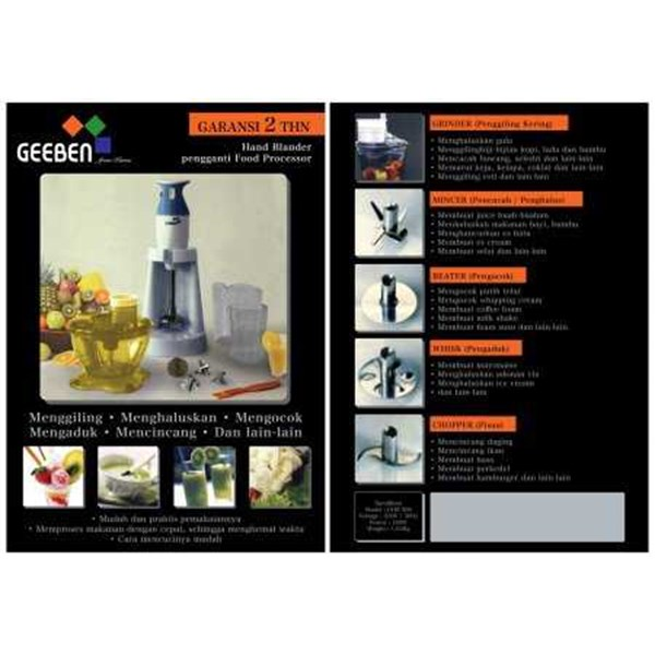 geeben hand blender pengganti food processor-1