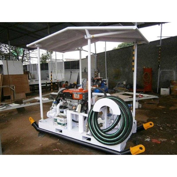 fuel suction & dispensing module on skid fuel station-4