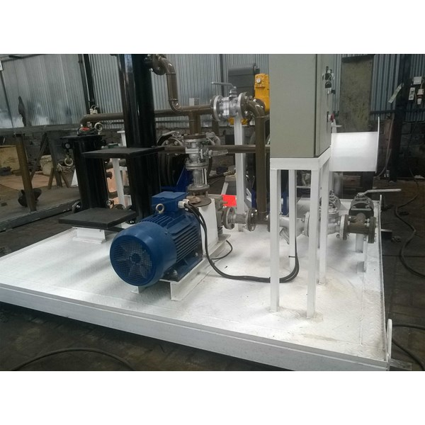 fuel suction & dispensing module on skid fuel station-3