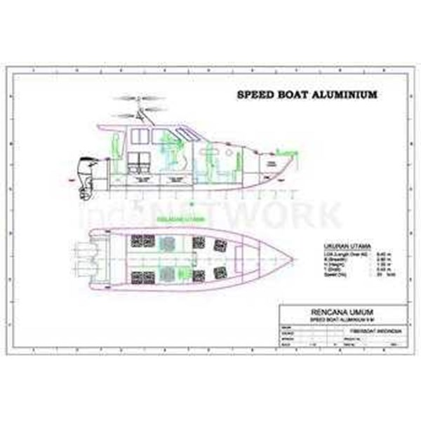 jual speed boat aluminium