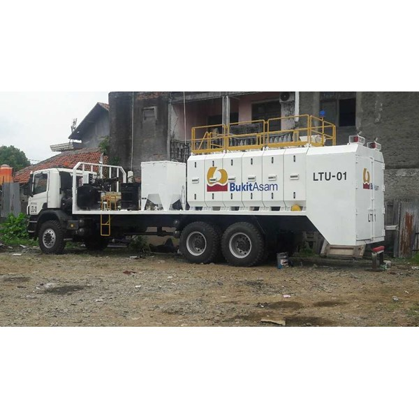 lube service truck with 8-10 module & system pneumatic/hydraulic-1