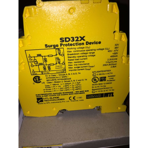 mtl sd32x surge protection device-3