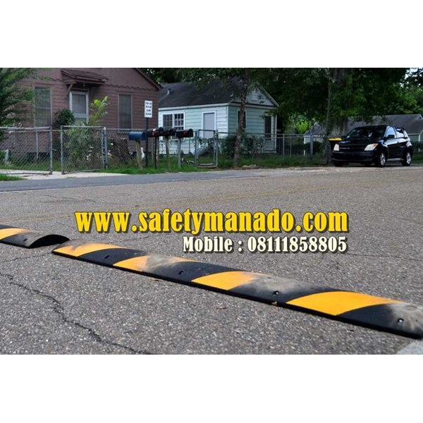 rubber speed bump