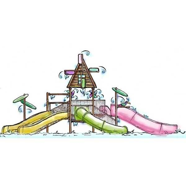 waterpark theme windmill shed-7