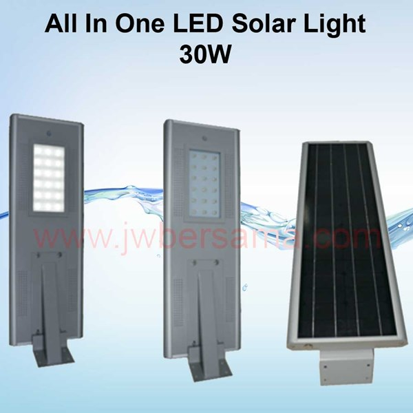 all in one solar led 40w-1