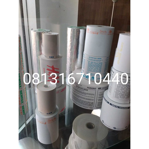 jual kertas thermal struk kasir paper roll ukuran 80 mm