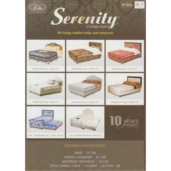 elite senerity springbed