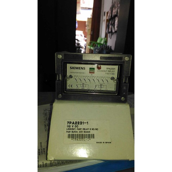 siemens 7pa2231-1 lock out relay-1