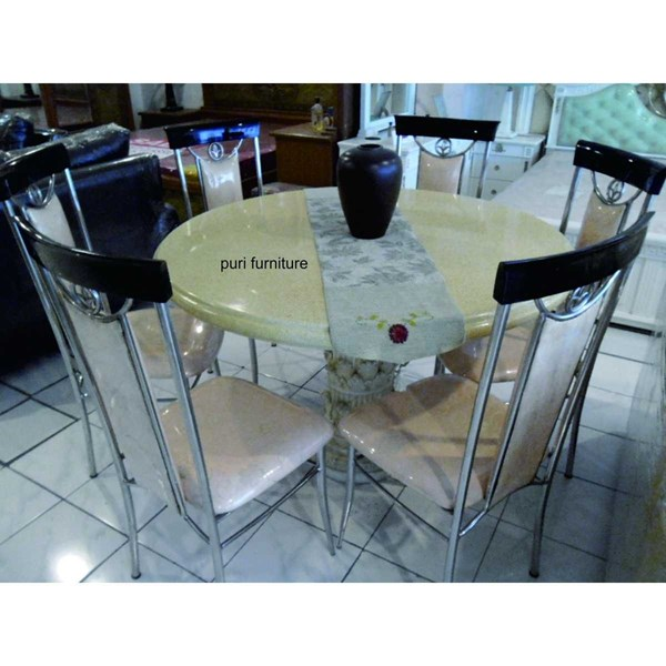 dining table stainless-1
