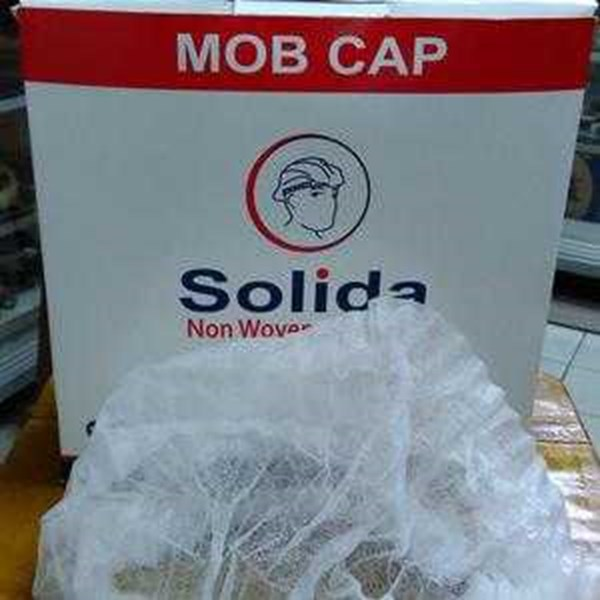 mob cap, hairnet, nurse cap, topi pabrik non woven disposible-4