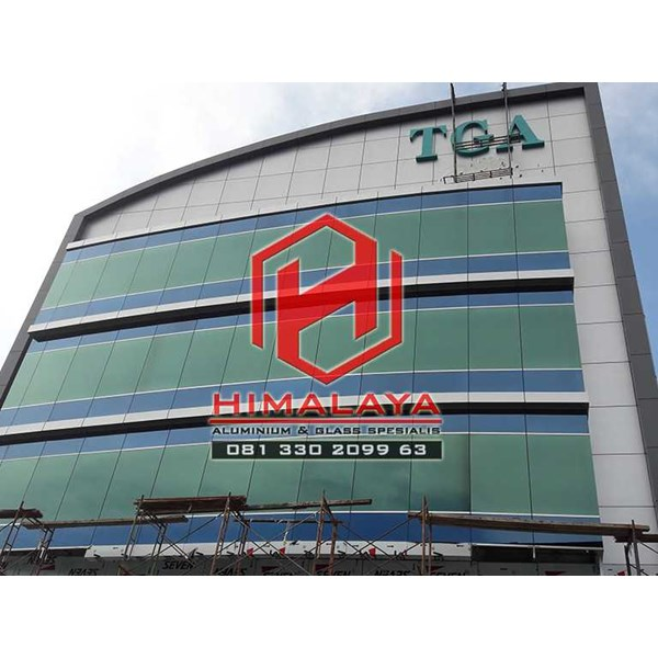 pasang curtain wall palembang-2
