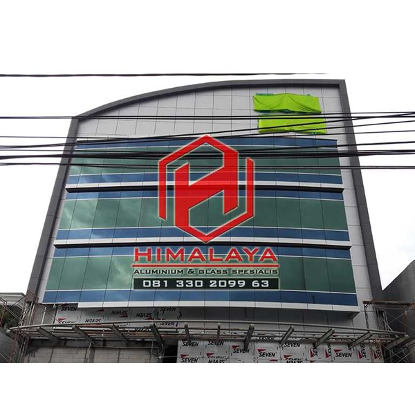 pasang curtain wall palembang-3
