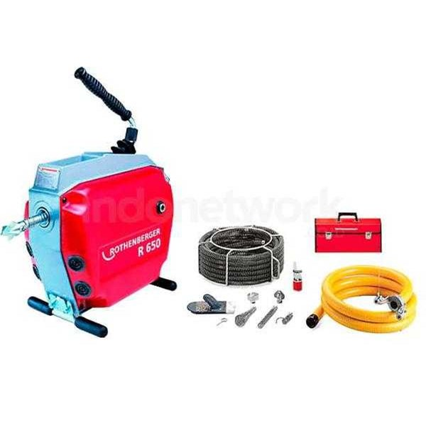 drain cleaning machines r 650 set rothenberger