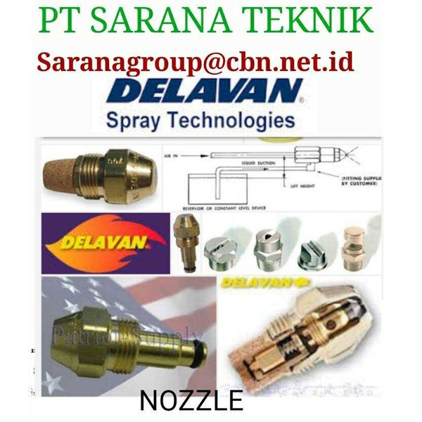 for industri delavan spray technologies oil nozzle pt saran teknik