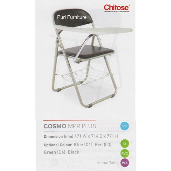 chitose folding chair & memo-7