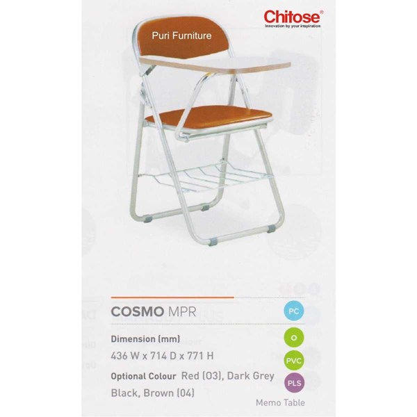 chitose folding chair & memo-5