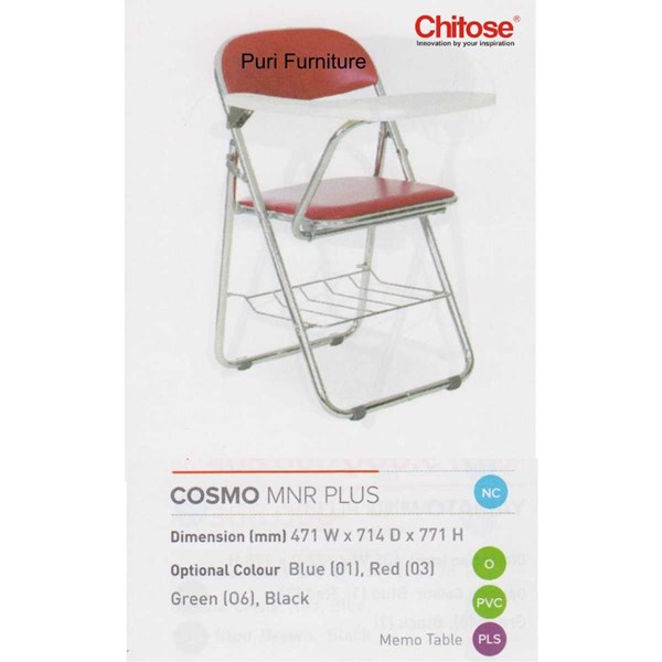 chitose folding chair & memo-6