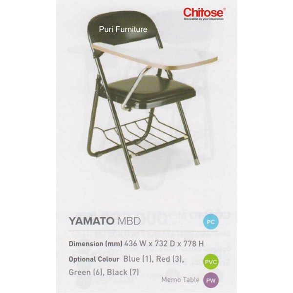 chitose folding chair & memo-1