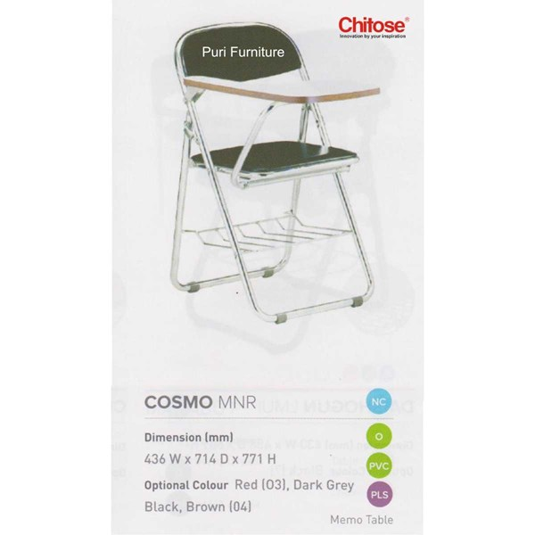 chitose folding chair & memo-4