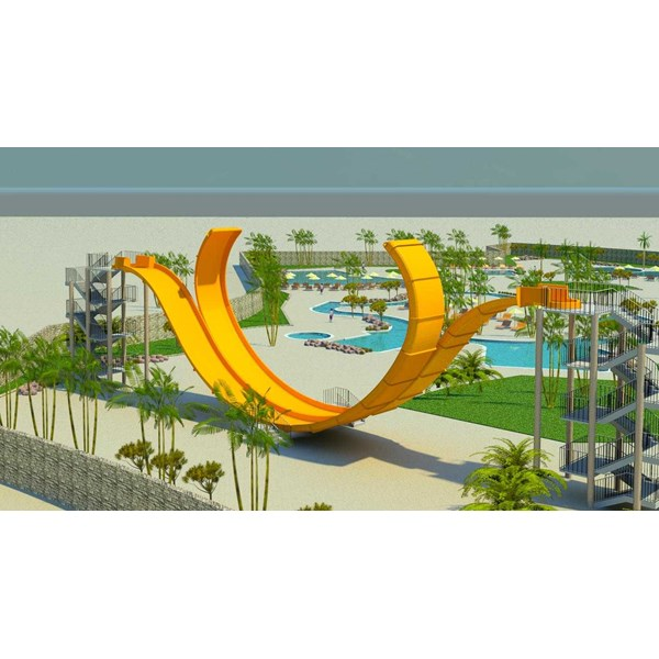 seluncuran water park d-wave slide-3