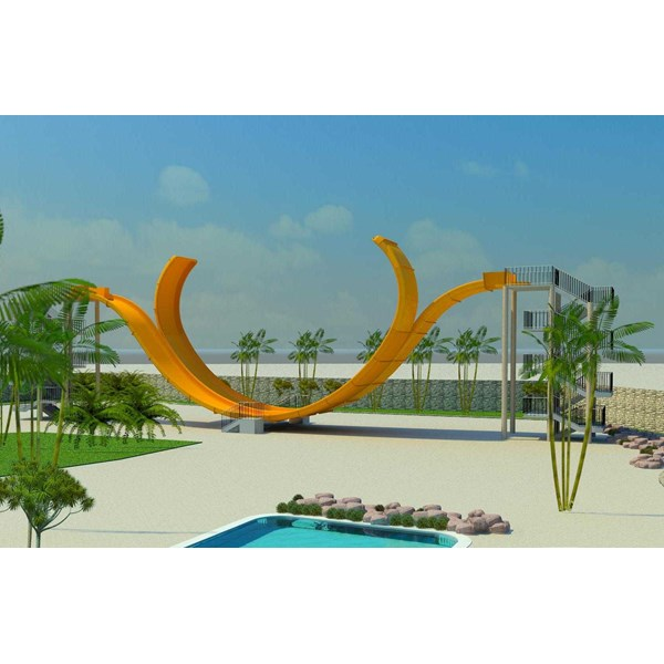 seluncuran water park d-wave slide