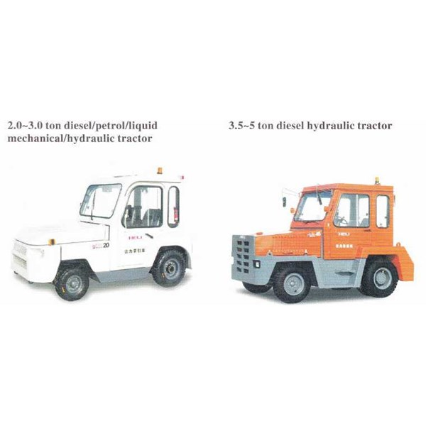 towing tractor electric/diesel-4