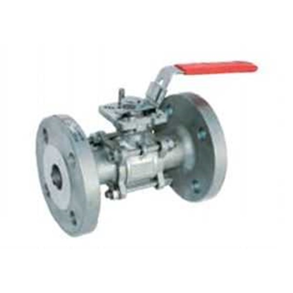 tecofi – bs 6260 3 pcs st.steel ball valve- full bore flanged pn 40