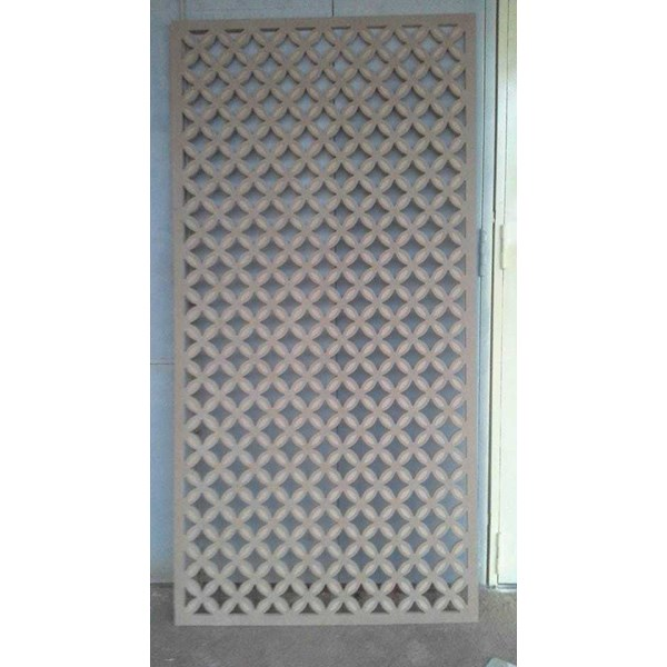 plat lubang / perforated plate berbahan besi, stainless steel-1