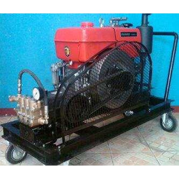 pompa hydrotest 350 bar - penggerak engine yanmar-1