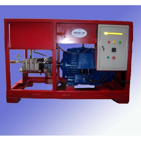 pompa hydrotest 350 bar - electric hydrotest pump