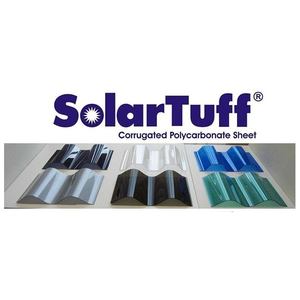 polycarbonate gelombang solartuff