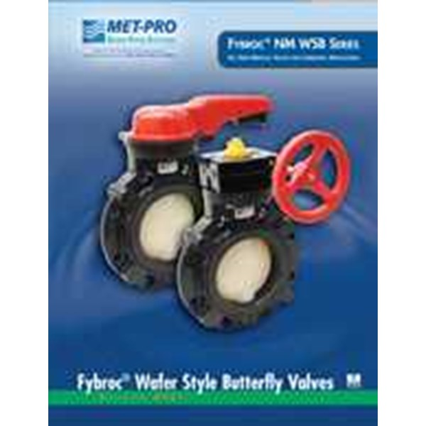 fybroc® series nm wsb wafer style butterfly valves