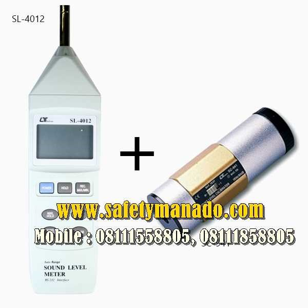 sound level meter lutron sl-4012-2