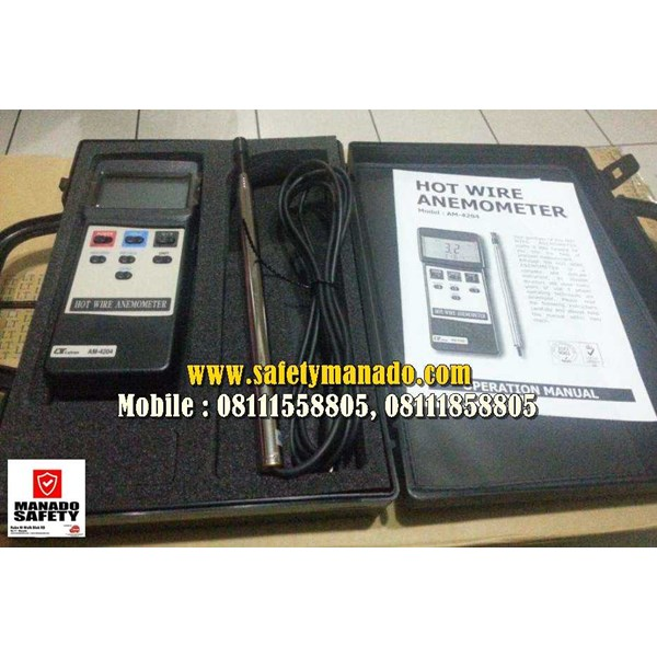 hot wire anemometer lutron am-4204-5