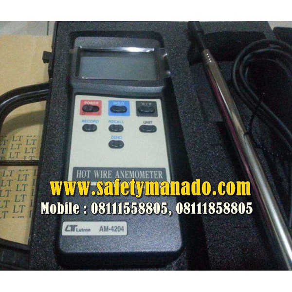 hot wire anemometer lutron am-4204-4
