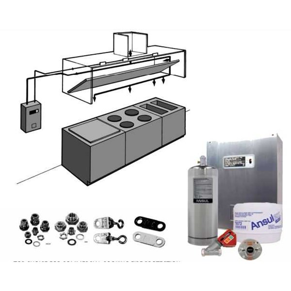ansul tyco – r-102 restaurant fire supression systems