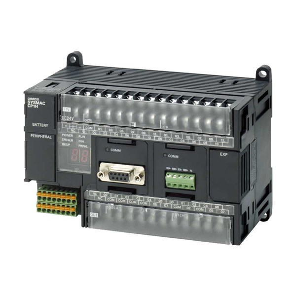 jual omron plc (programmable logic controller) cp1l-l20dr-a