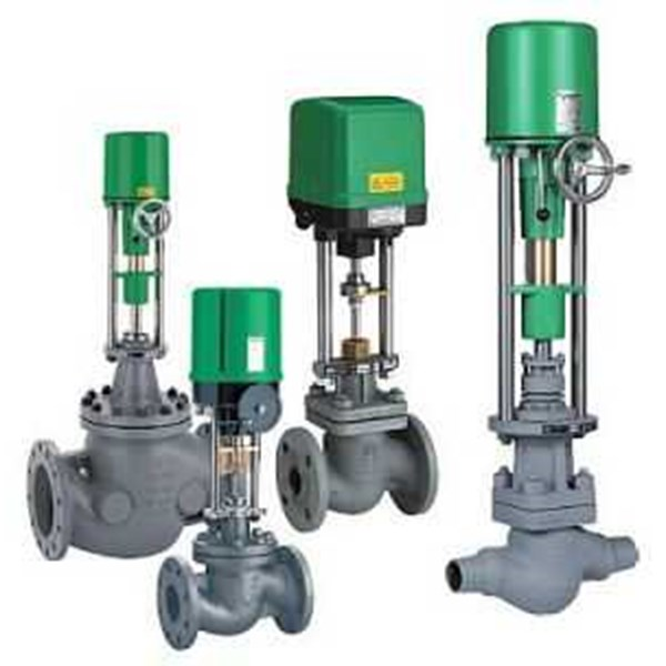 rtk valves - control valves with electric actuator