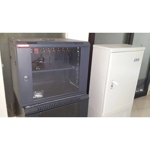jual rack server wallmonted 8 ru singel door