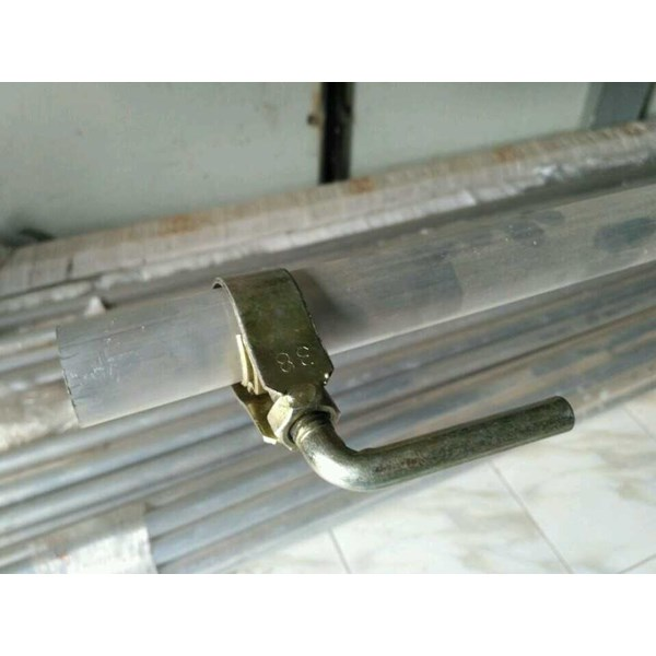 pipe single clamp alat panen kelapa sawit