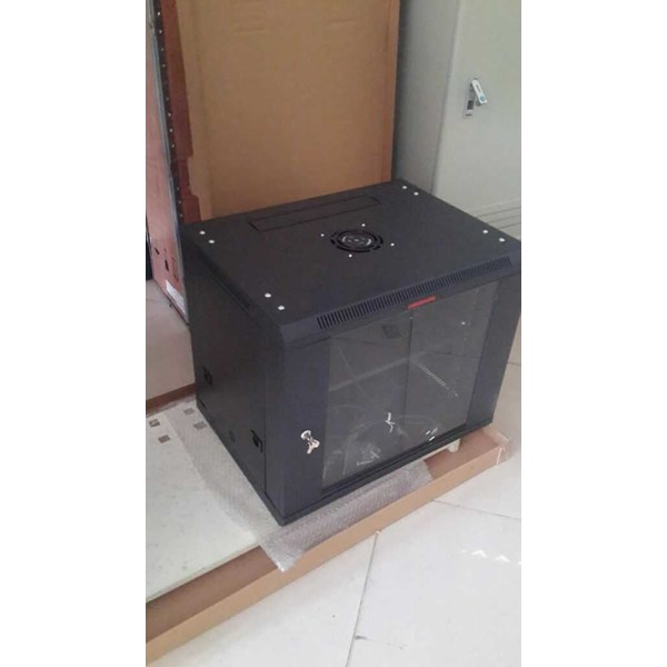 jual rack server wallmonted 8 ru singel door-1